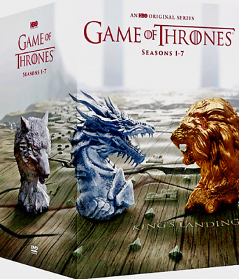 Game of Thrones Complete Series Seasons 1-7 (DVD, 34-Disc Boxed Set) SEALED