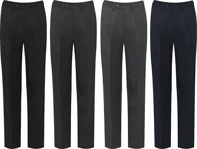 Blue Max Banner Boys Putney Pleated with Fly School Trousers