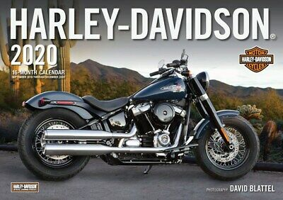 2020 Harley-Davidson Motorcycle Giant Wall Calendar w/ Poster