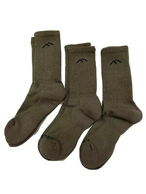 3 Pair - Darn Tough MERINO Wool Military Tactical Boot SOCKS Foliage 14021 SMALL