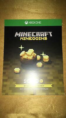 Minecraft 1000 Minecoins Download Code (Xbox One) NEW