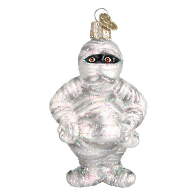"""Mummy"" (26058)X Old World Christmas Glass Ornament w/OWC Box"