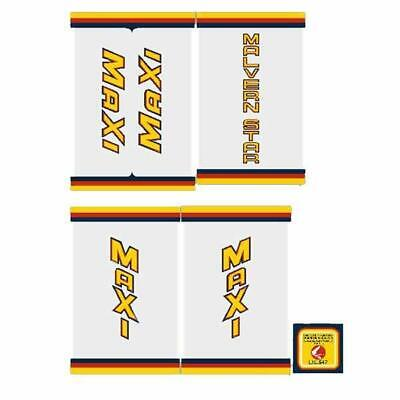 Supermax Cromo decal set Malvern Star
