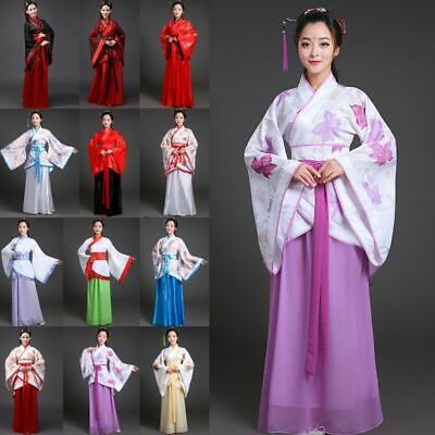 2019 Ancient Costume Chinese Women Han Tang Dynasty Casual Dress Cosplay Costume