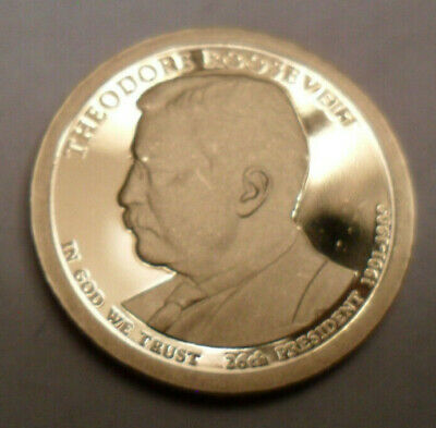 2013 S Theodore Roosevelt Presidential  *PROOF*  Coin  **FREE SHIPPING**