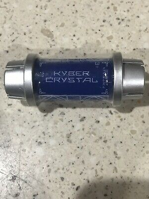 Disney Star Wars Galaxy's Edge Kyber Crystal BLUE Lightsaber Holocron Savi's
