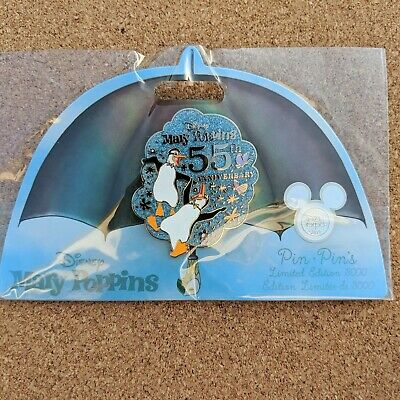 Mary Poppins 55th Anniversary Pin 2019 Disney Store D23 Expo Exclusive LE 3000