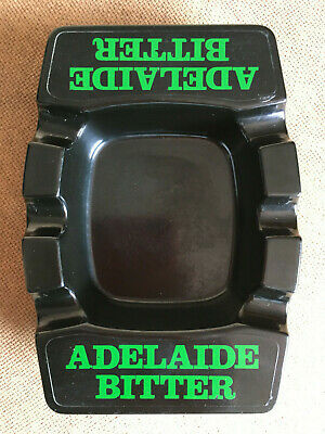 Vintage ADELAIDE BITTER Beer Ashtray ex Pub Breweriana VB West End Coopers XXXX