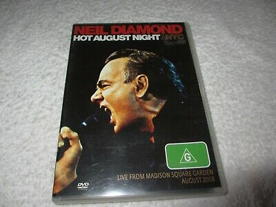 DVD Movie Neil Diamond Hot August Night / NYC Live From Madison Square K23