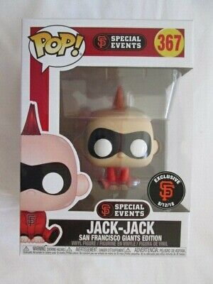 Jack-Jack Incredibles San Francisco Sf Giants Funko Pop Exclusive! Rare! Mint!