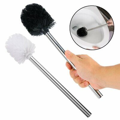 Replacement Stainless Steel WC Bathroom Cleaning Toilet Brush Head Holders KU