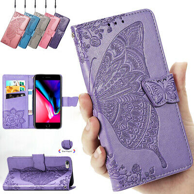 Magnetic Flip Case Leather ShockProof Wallet Cover For iPhone 11 Pro Max 7 8 6 X