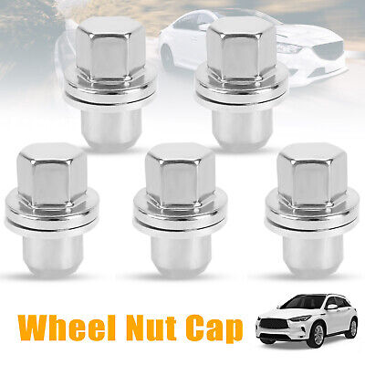 20x Stainless Steel Wheel Nuts + Washers For Discovery + Range Rover 22mm Hex