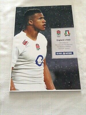 England V Italy Rugby At Twickenham On 14th February 2015