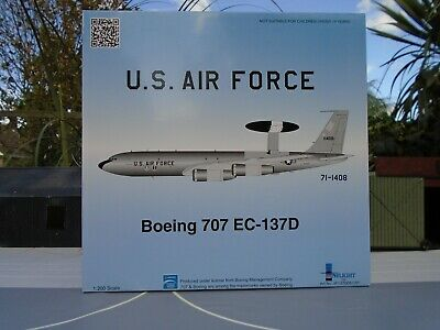 Inflight 200 1/200 Scale Boeing Ec-137 Sentry.usaf If13700517P