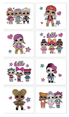 LOL Tattoos - LOL Birthday Party Tattoos Favours Loot Bag Ideas - L.O.L Party