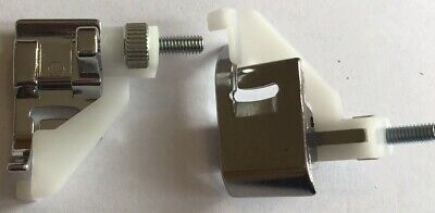 Sewing Machine Adjustable Blind Hemming Foot Clip On