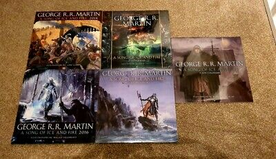 A Song of Ice and Fire Calendar 2014, 2016, 2017, 2018, 2019 Game of Thrones New