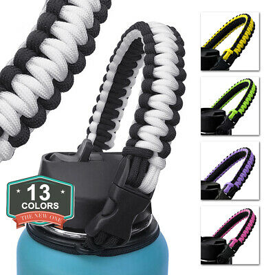 Water Bottle Safety Ring Strap Rope Handle for Hydro Flask Wide Mouth Welcome