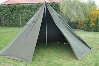 Set 2 Military Polish Army Poncho or 1 TENT. Biggest SIZE 3.New. Lavvu.Canvas.
