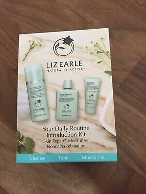Liz Earle Daily Routine Kit with Skin Repair Moisturiser – Normal/Combination