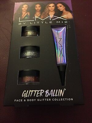 LMX By Little Mix Face & Body Glitter Collection