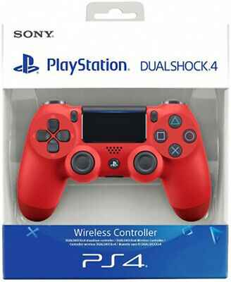 Controller Originale Sony Playstation 4 Ps4 Dualshock V2 Magma Red Wireless New