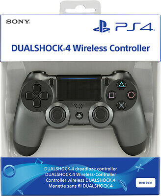 Controller Originale Sony Playstation 4 Ps4 Dualshock V2 Steel Black Wireless