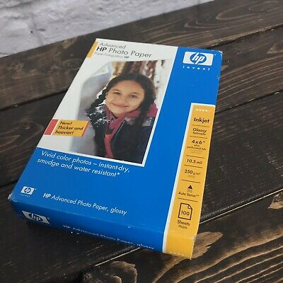 Vivid HP Photo-smart~ ~High Gloss~4 x 6 Photo Paper~~50ct~10.5 mil~AWESOME~COLOR
