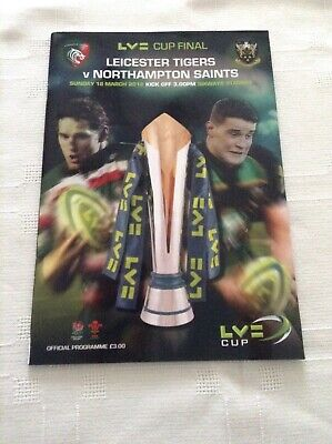 Rugby Union LV Cup Final Leicester Tigers V Northampton Saints