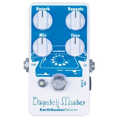 Earthquaker Devices Dispatch Master Delay and Reverb Pedal