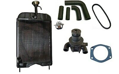 Massey Ferguson MF240 (Early model) Radiator, Water pump and hose Kit