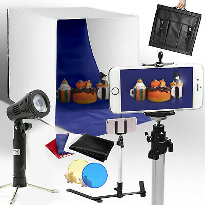 16 Photography Light Tent Backdrop Cube Kit In A Box Mini Stand for Photo Studio