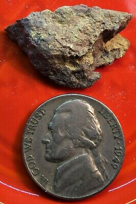 Uranium Ore, Element #92, Collector's Sample, 3.15 Gm, 27,000 Cpm, #370