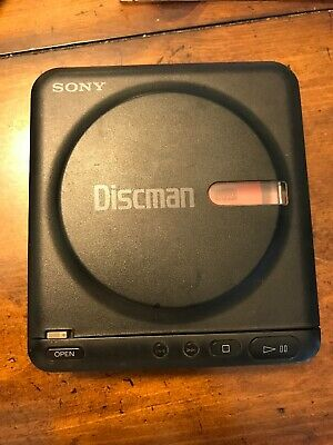 SONY Discman Model D-2 Portable CD Player 1989 Tested And Works