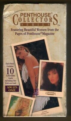 1992 Penthouse Collectors Card Series Factory Sealed Box - 36 10 Card Packs