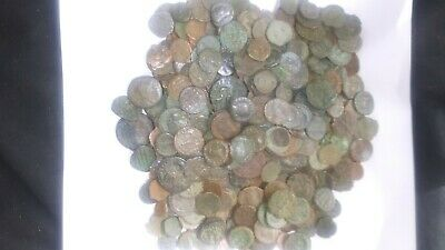 Lot Bulk of 40 cleaned Ancient Roman, Greek, Byzantine, or others. Bonus Silver