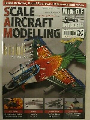 Scale Aircraft Modelling Magazine - September 2019 - Color Profiles