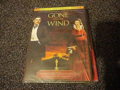 Gone With the Wind (DVD, 2009, 2-Disc Set, 70th Anniversary Edition) — Brand New