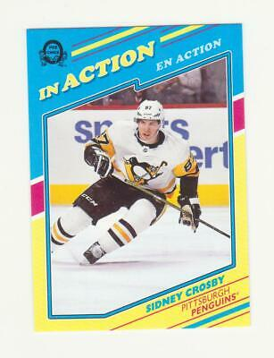 2019-20 O-Pee-Chee Sidney Crosby In Action SSP Card # L-4 (19-20) OPC