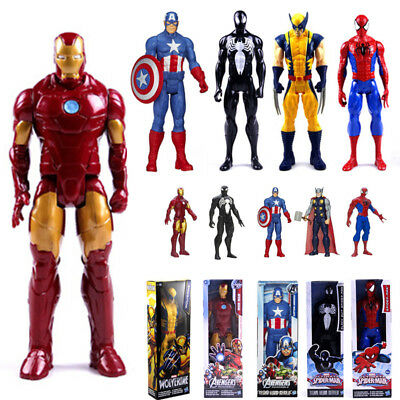 """12"""" The Avengers Action Figure X-man Spider Man Iron Man Thor Collectable Toy US"""