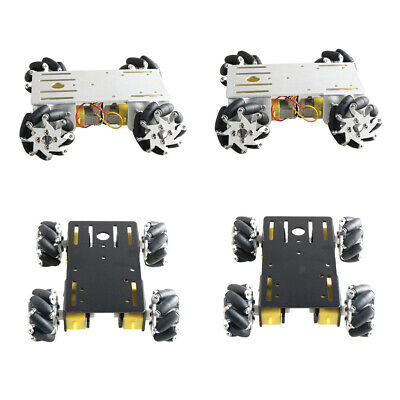 Mini 4WD Smart Robot Car Chassis w/ TT Motor for Arduino DIY Toy Parts
