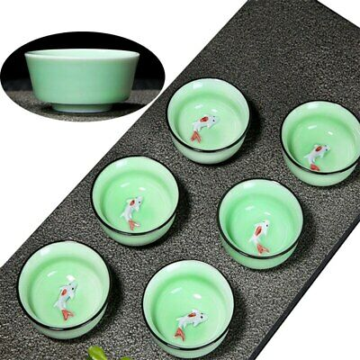 Chinese Kung Fu Teaset Ceramic Tea Cup Ice Cracked Glaze Cup Porcelain Drinkware