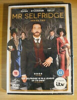 New MR SELFRIDGE SERIES TWO 2 JEREMY PIVEN FRANCES O'CONNOR ITV R2 DVD Sealed