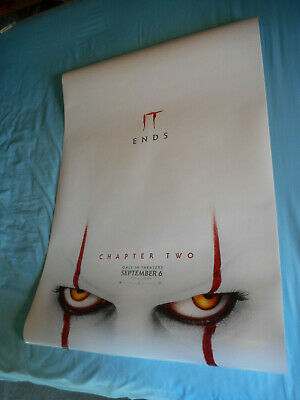"""Stephen King IT CHAPTER 2 official movie poster one sheet DS 27x40"""" Pennywise v2"""