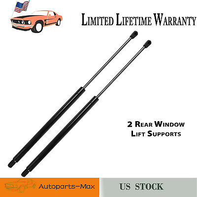 Rear Glass Window Lift Support Strut Gas Charged Shock for 87-95 Jeep Wrangler