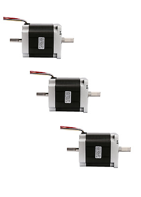 【EU ship】3PC Stepper Motor Nema34 878oz-in 34HST9805-02B2 8leads 86BYGH CNC