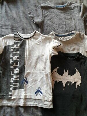 next/river island boys t shirt bundle aged 4 years