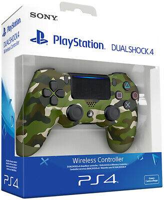 Controller Originale Sony Playstation 4 Ps4 Dualshock V2 Green Camouflage Camo