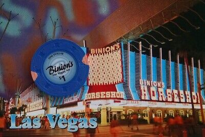 Binion's Casino - $1 Gaming Chip - Las Vegas Nv - Newest Issue